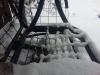 Snö igen - men vackert är det